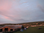 SX06979 Tent and car in field at Headland Caravan & Camping Park.jpg